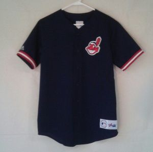 Genuine Merchandise Majestic CLE indians jersey